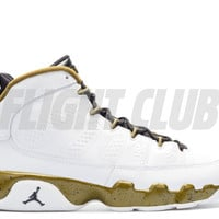 "air jordan 9 retro bg (gs) ""statue"""