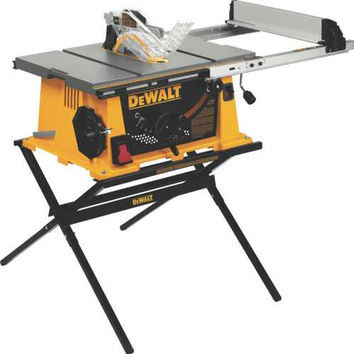 Dewalt Job Site Table Saw With Site-Pro Modular Guarding System 10 In.