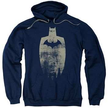 Batman Gold Silhouette Adult Pullover Hoodie