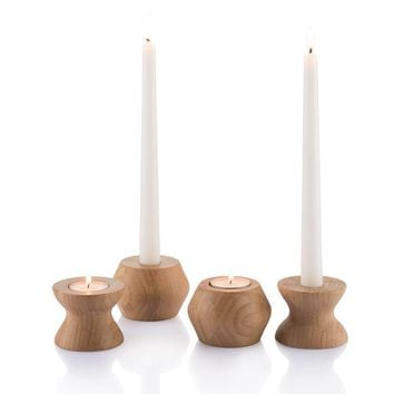 HighLight/LowLight Reversible Candle Holder