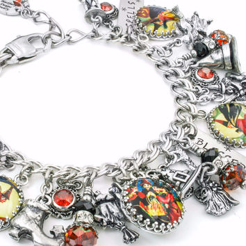 Witch Charm Bracelet, The Witches Spells