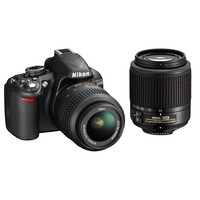 Nikon D3100 DSLR Camera with NIKKOR 18-55mm and 55-200mm DX | B&H Photo Video