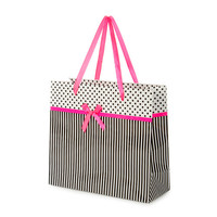 Polka Dots and Stripes Gift Bag