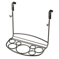 Shapes Styling Rack, Satin Nickel
