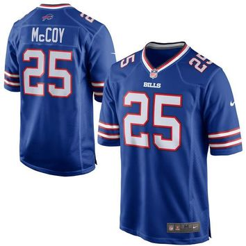 Men's Buffalo Bills LeSean McCoy Nike Royal Blue Game Jersey
