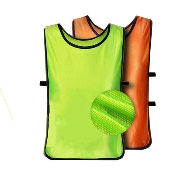 Adult/Child Soccer Basketball Team Training Bib Vest Top Sports Clothing Jerseys
