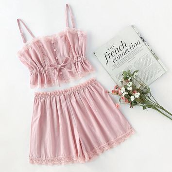 Polina Two Piece Sleepwear Set