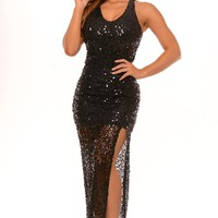 Heidi - Sequin Maxi Dress