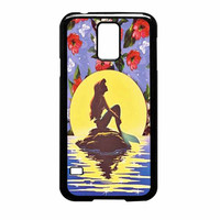 Ariel Little Mermaid Disney Flower Vintage Samsung Galaxy S5 Case