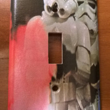 Star Wars Stormtrooper light switch cover