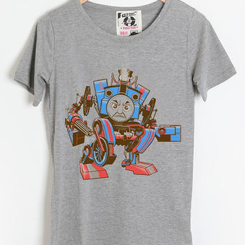Popular Inspired Design Thomas The Assault Engine for T shirt mens and T shirt girl available All Size