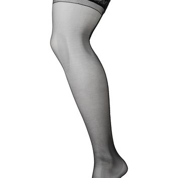 Plus Size Back Seam Thigh Highs by Lane Bryant | Lane Bryant
