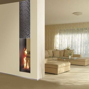 Gas Fireplace Insert Roma Double Sided From Archi Products