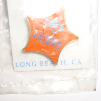 Aquarium Of The Pacific Long Beach California Pin