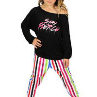 Dirtee Hollywood Dance Stay Fierce Top | Mod Angel