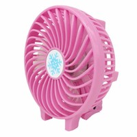 Mini Portable Foldable Handheld Cooling Fan + Battery Operated Rechargeable