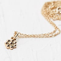 Tiny Flower Charm Necklace - Urban Outfitters