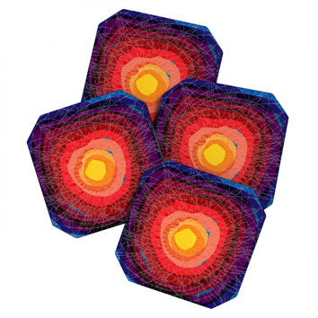 Raven Jumpo Tie Die Madness Coaster Set