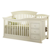 Sorelle Verona Crib and Changer - French White