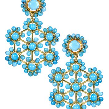 Vivi Earrings in Turquoise