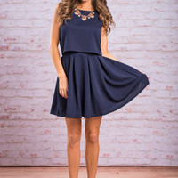 Every Memory Skirt, Navy