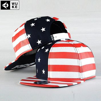 USA Flag Snapback Caps, American Flag Hat, Gorras Star With Striped Men's Sports Hats Lady's Adjustable Baseball Hats