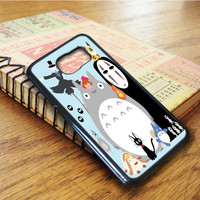 Studio Ghibli Totoro Cartoon Spirited Away Samsung Galaxy S6 Edge Case