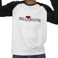 Grill Master Barbecue BBQ King T-shirts from Zazzle.com