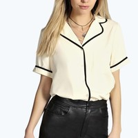 Kate Boxy Pyjama Shirt