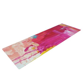 "Ebi Emporium ""Elated"" Multicolor Paint Yoga Mat"