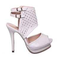 New! Cut Out Sling Back Heels