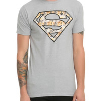 DC Comics Superman Cat Fill T-Shirt