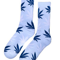 LIGHT BLUE HEATHER PLANTLIFE SOCKS