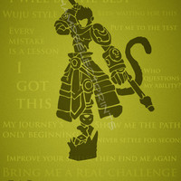 Wukong League of Legends Print 11x17 by ChampSelectPrints on Etsy