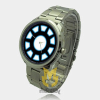 Iron Man Tony Stark Arc Reactor Sport Watch