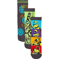 River Island Boys ninja turtle 3 pack socks
