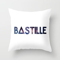 BASTILLE Throw Pillow by infinitum