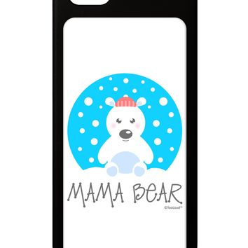 Matching Polar Bear Family - Mama Bear iPhone 5 / 5S Grip Case  by TooLoud