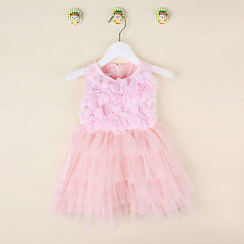 Kids Girls Baby Dress  Products For Children = 4445624644