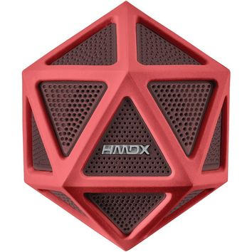 HMDX HX-P160RD Geo(TM) Bluetooth(R) Speaker
