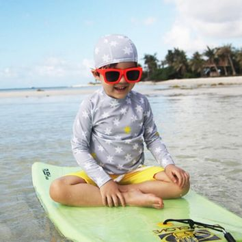 New Collection Kids Boys Three Piece Swimsuit and Bathing Suit