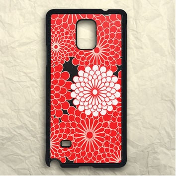 Red Flowers Samsung Galaxy Note 3 Case