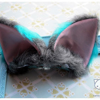 Tim burton's Cheshire cat theme Cosplay cat ears ( Nekomimi ) Alice in wonderland inspired