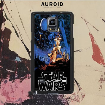 Star Wars Poster Samsung Galaxy Note 3 Case Auroid