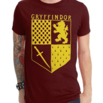 Harry Potter Gryffindor Banner T-Shirt