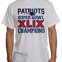New England Patriots Super Bowl Champions