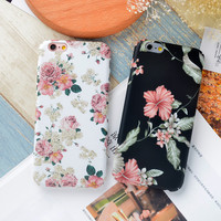Flower Printed Case for iPhone
