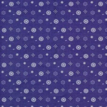 Blue Snow Pattern Backdrop - 8132