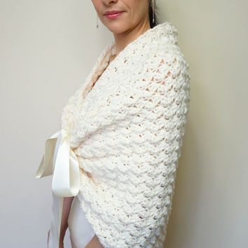 Bridal Wrap Wedding Shawl Bolero Cape