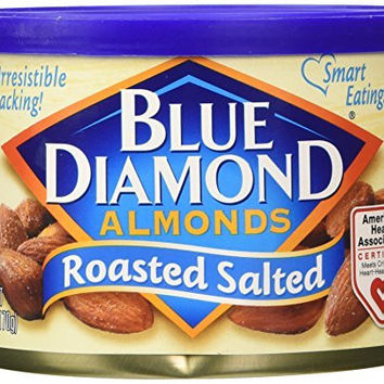 Blue Diamond Roasted Salted Almonds - 6 oz